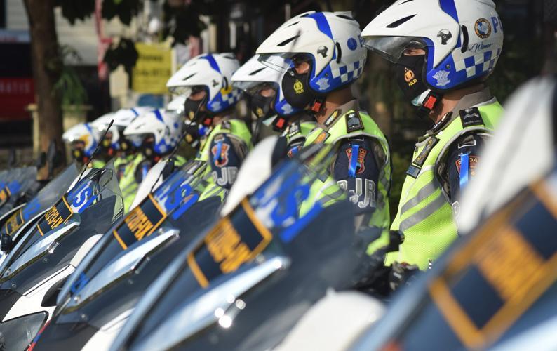 Polda Jateng Kerahkan 11.000 Personel Jaga 14 Titik Penyekatan di Seluruh Rest Area