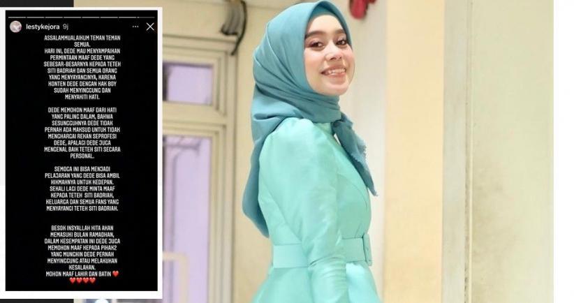 Sebut Siti Badriah Penyanyi Dangdut Suara Terjelek, Lesty Kejora Minta Maaf