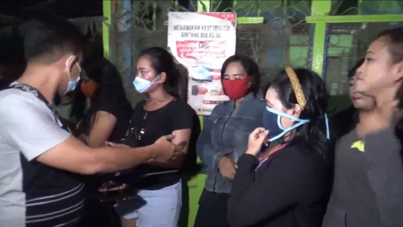 Polisi Razia Kafe Remang-Remang di Percut Seituan, Puluhan Pengunjung Mencoba Kabur