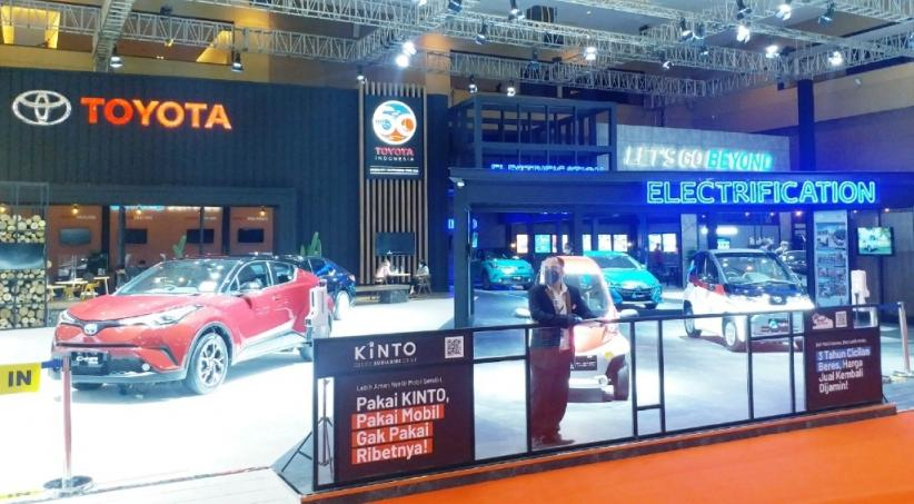 Toyota Boyong 10 Mobil Listrik di IIMS Hybrid 2021