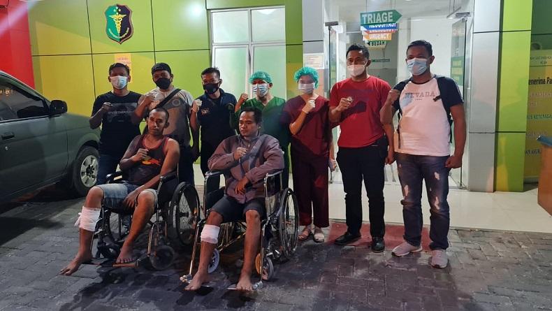 Polisi Tembak 2 Spesialis Curanmor di Kota Medan