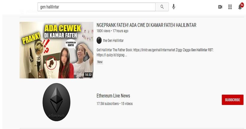 Channel YouTube Gen Halilintar Kena Hack