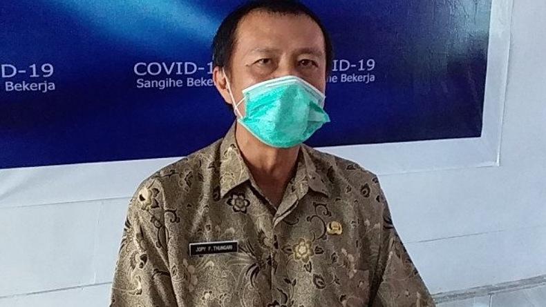 Kabupaten Sangihe Zona Kuning Penyebaran Covid-19, 97,15 Persen Kasus Dinyatakan Sembuh