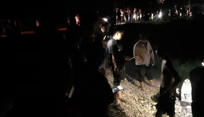Terobos Perlintasan Kereta, Pengendara Motor Tewas Tertabrak KA Jayabaya