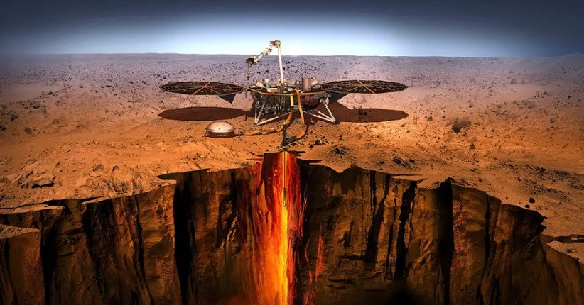 Lander InSight NASA Deteksi 500 Gempa Mars