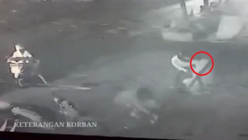 Komplotan Begal Beraksi di Depan Mal Jalan Peta Bandung, Rampas HP dan Dompet Korban
