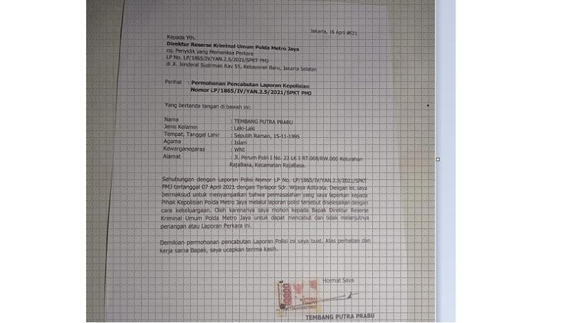 Laporan Dicabut, Kasus Penganiayaan Pegawai Imigrasi Bandara Soetta Tangerang Berakhir Damai