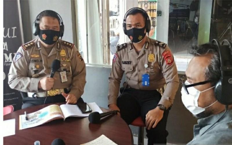 Polda Sumsel Sosialisasikan Tilang Elektronik di Palembang