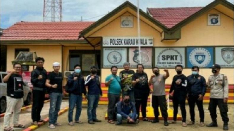 Diduga Selewengkan Dana Desa, Oknum Kades Ditahan Polres Hulu Sungai Utara