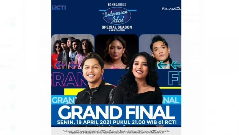 Grand Final Indonesian Idol Hadirkan Kolaborasi Spesial Mark dan Rimar dengan Musisi Terbaik Indonesia