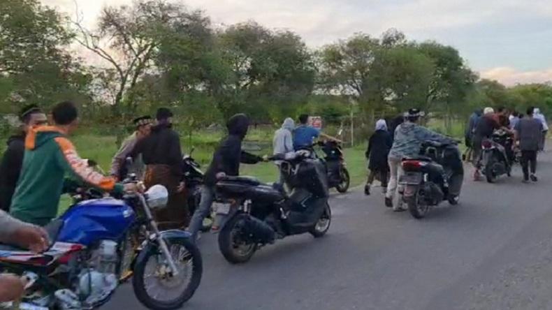 Balap Liar Resahkan Warga, Polisi Gabungan 3 Polsek di Aceh Utara Turun Tangan