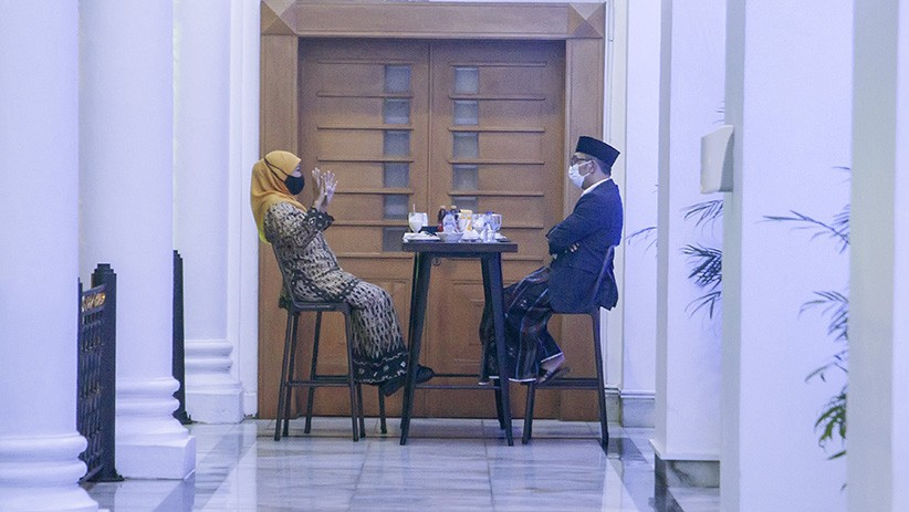 Gubernur Ridwan Kamil Desain Arsitektur Masjid Islamic Center Surabaya