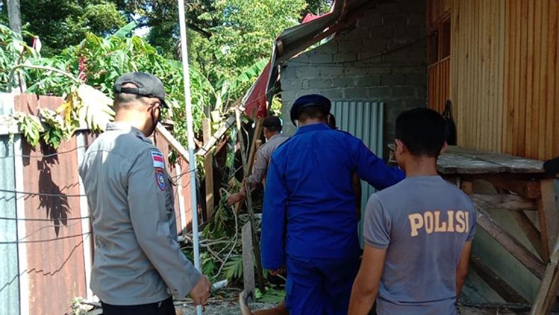 Badai Siklon Tropis Surigae di Talaud, Puluhan Bangunan Rusak