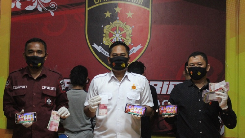 4 Bandar Chip Game Online di Banda Aceh Diringkus, 1 Pelaku Anak di Bawah Umur