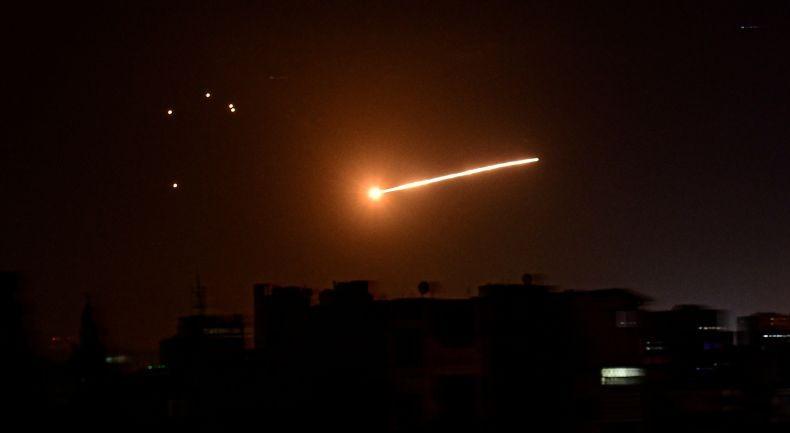 Lagi, Suriah Cegat Rudal Israel
