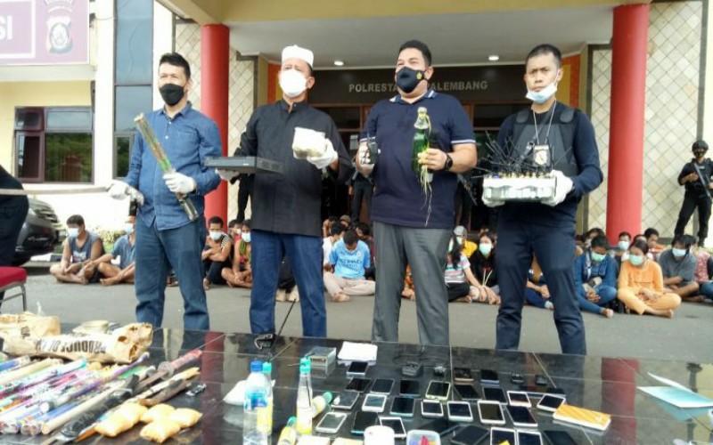 Polisi Gerebek Kampung Narkoba, Ini yang Direncanakan Pemkot Palembang