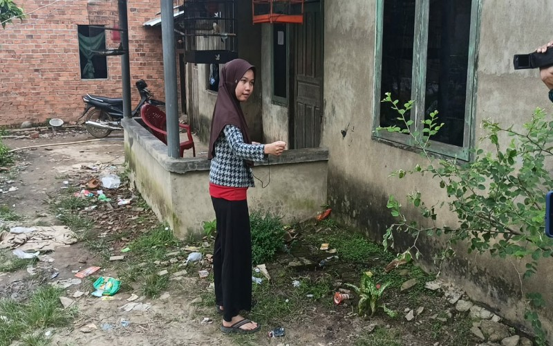 PNS di Palembang Ini Disiram Air Keras, Anak-Istri Trauma dan Ketakutan