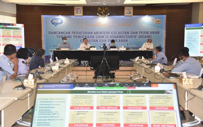 Jaga Keseimbangan Tata Kelola, KKP Rumuskan Pengenaan Sanksi Administratif di Bidang Kelautan dan Perikanan