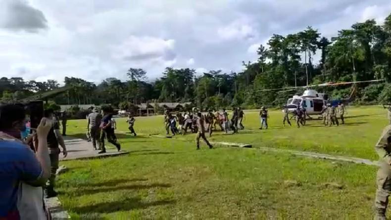 KKB Lekagak Telenggen, Kelompok yang Serang Brimob dan Kepala BIN Papua