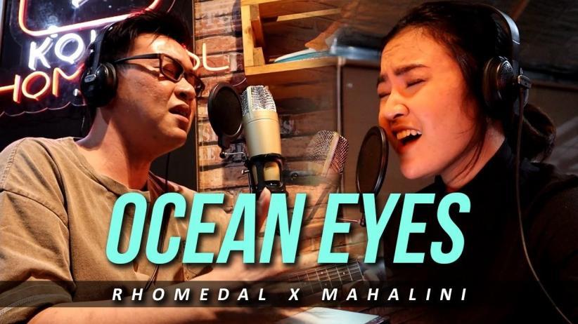 Mahalini Finalis Indonesian Idol X dan Koko Rhomedal Cover Lagu Ocean Eyes