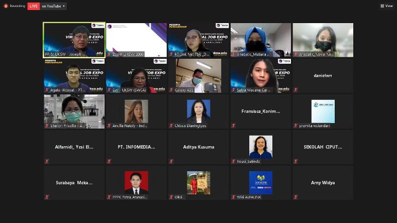 Uksw Virtual Job Expo Sajikan 325 Lowongan Kerja Bagian 1
