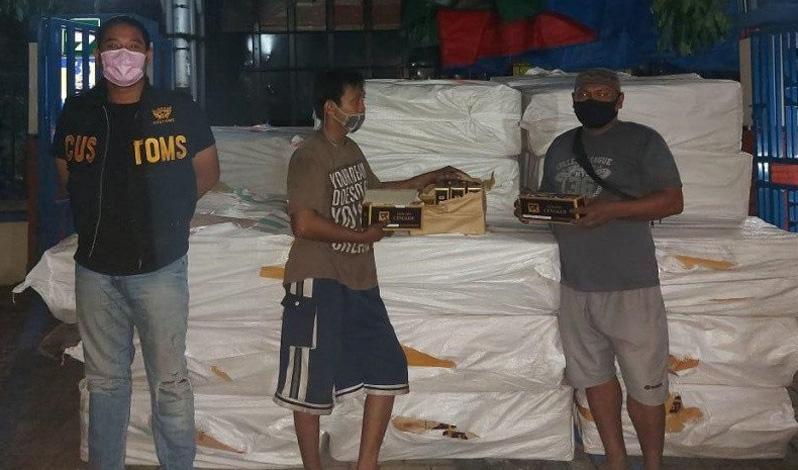 Bea Cukai Kudus Bongkar Penyelundupan 600.000 Batang Rokok Ilegal