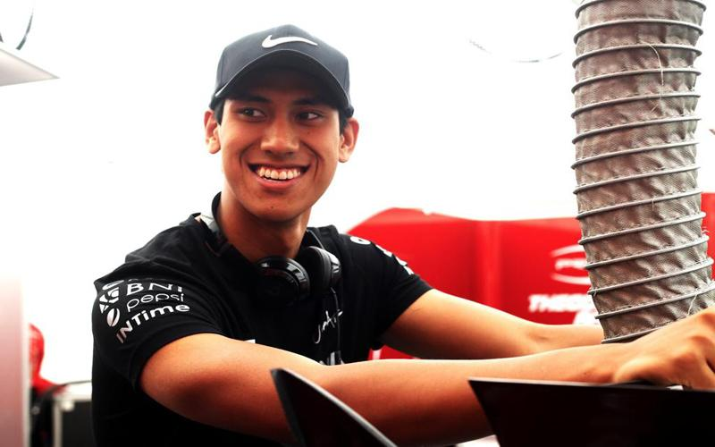 Sean Gelael Pimpin Tim Indonesia di FIA Motorsport Games