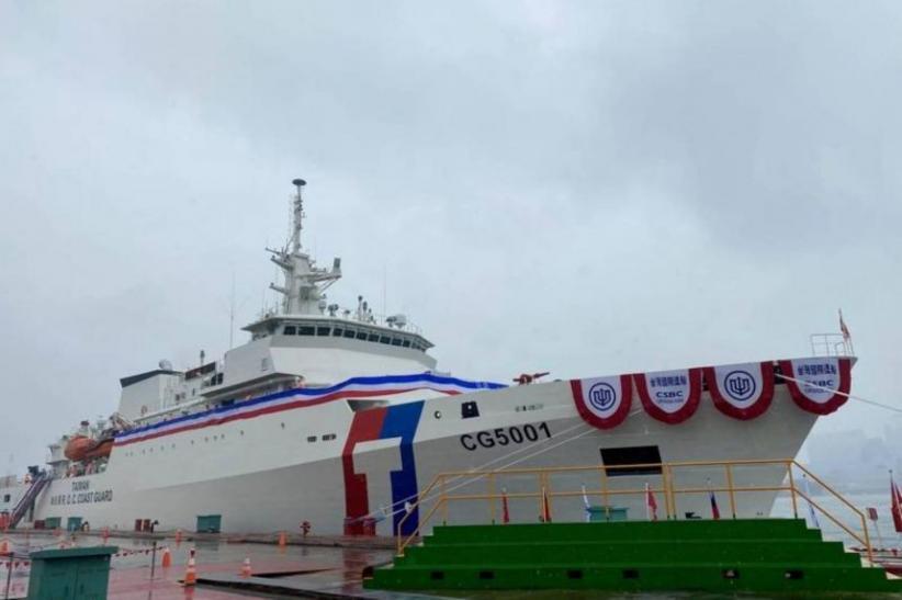 Taiwan Kerahkan Kapal Penjaga Pantai Baru dan Terbesar untuk Lawan China