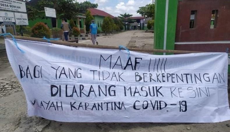 Tekan Laju Covid-19, PPKM Diterapkan di 6 Desa dan Kelurahan Bangka