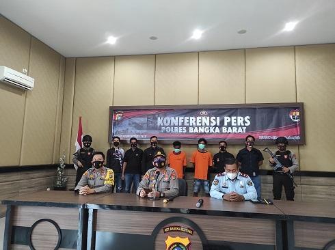 Sempat Kabur 1 bulan, 2 Napi Rutan Muntok Berhasil ditangkap