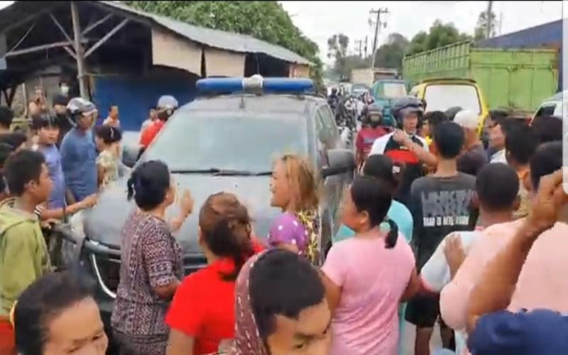 Tawuran Remaja di Medan Kembali Pecah, Ibu-Ibu Mengamuk Anaknya Ditangkap Polisi