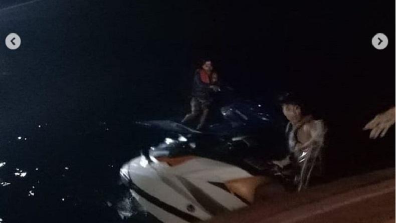 Kehabisan Bahan Bakar, 2 Pengendara Jetski Terombang-Ambing di Perairan Nusa Penida