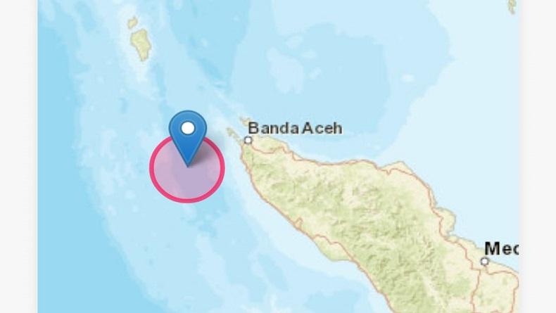 Gempa Bumi Magnitudo 5,3 Guncang Aceh Jelang Tengah Malam, Berpusat di Laut