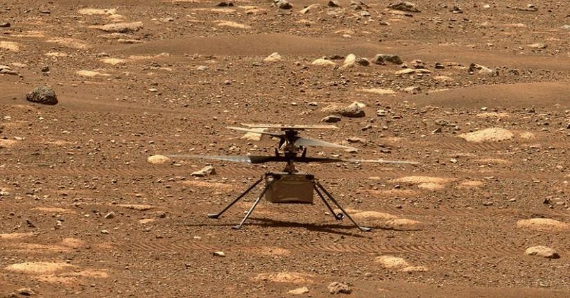Penerbangan Keempat Helikopter Mars NASA Gagal karena Masalah Software