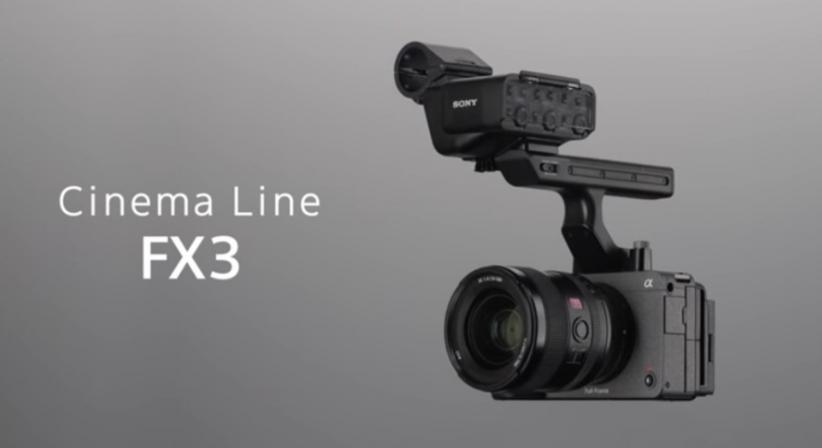 Sony Luncurkan Kamera Cinema FX3 Seharga Rp59 Jutaan, Intip Spesifikasinya