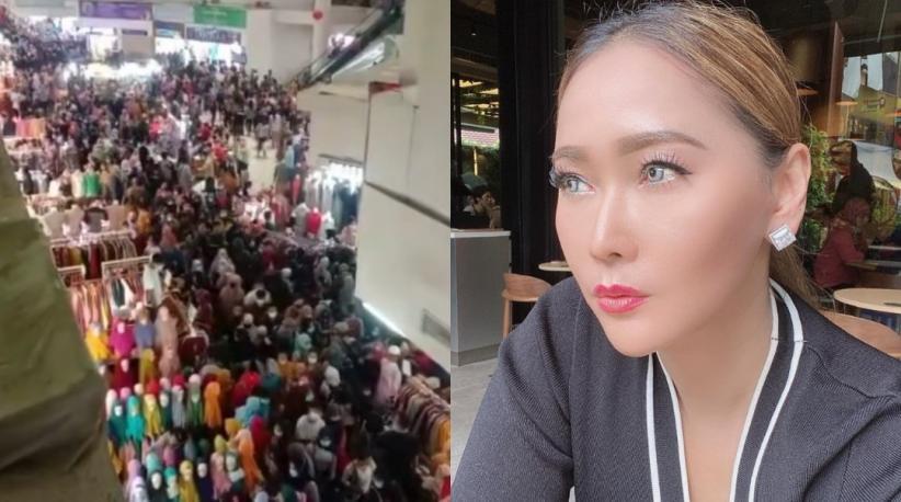 Inul Darasista Syok Lihat Pasar Tanah Abang Padat: Rakyat Susah Diatur, Ojo Salahin Presiden