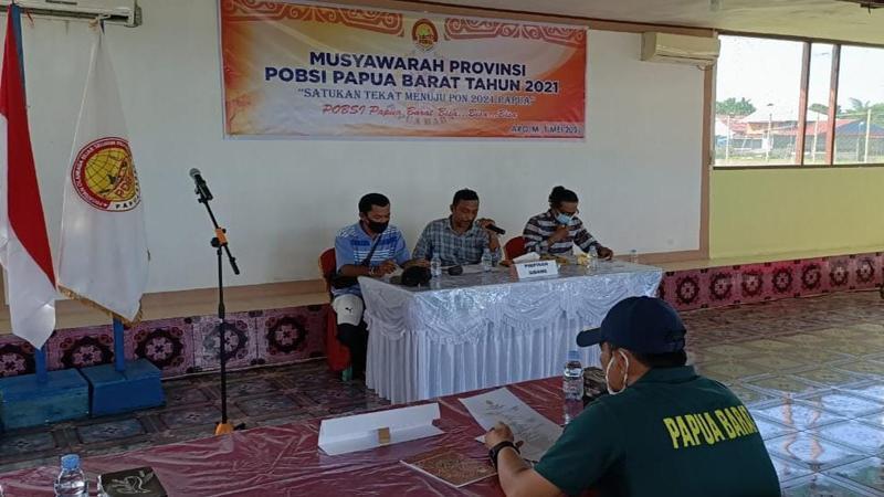 POBSI Papua Barat Gelar Musyawarah Provinsi, Ini Harapan Sekjen