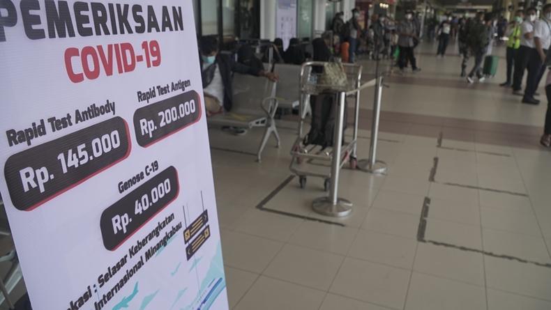 Ini Jadwal dan Tata Cara Pemeriksaan GeNose di Bandara Internasional Minangkabau