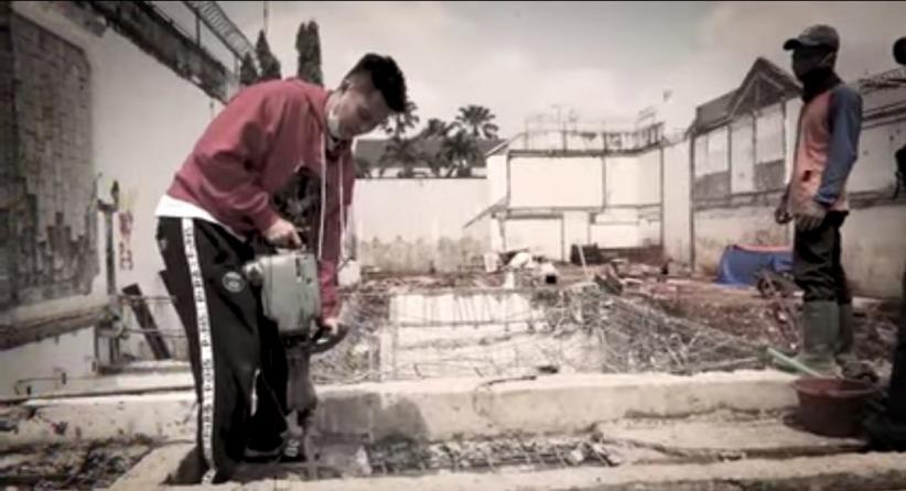 Ini Penampakan Rumah Baim Wong yang Dibangun 8 Bulan Cuma Pondasi