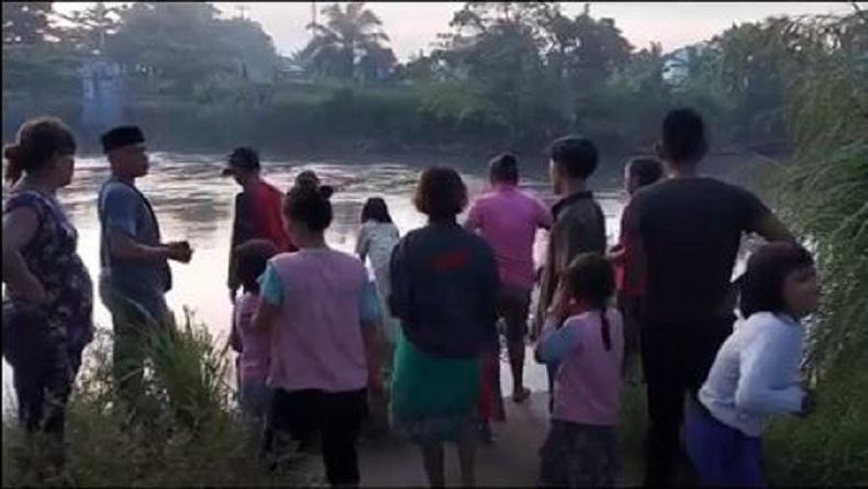 Mandi di Sungai Padang, Bocah 7 Tahun Hilang Tenggelam