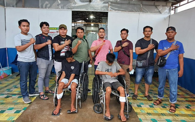 Polisi Tembak 2 Begal Sadis di PALI yang Mengakibatkan Korbannya Tewas