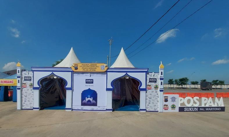 Penyekatan Perbatasan Jateng-Jatim di Jalur Pantura Rembang Mulai Diperketat