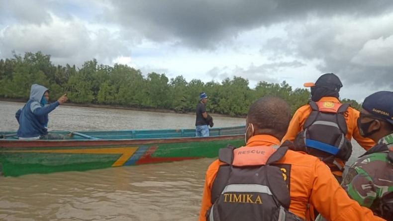 Penumpang Long Boat Terbalik di Perairan Sawaerma Asmat Ditemukan Meninggal
