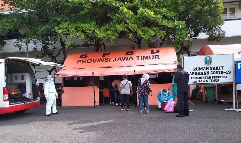 Positif Covid-19, 34 TKI Dipindahkan ke RS Lapangan Indrapura