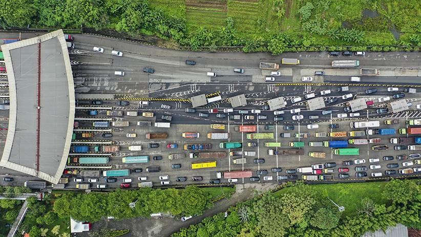 Dua Hari 171.358 Kendaraan Tinggalkan Jabodetabek, Terbanyak Melalui GT Cikupa