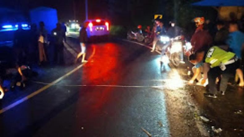 Kecelakaan Maut di Trans Sulawesi, Pengendara Motor Tewas Terlindas Ban Truk