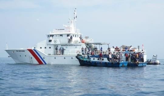 Pemudik Jalur Laut dari Jakarta Menuju Cirebon Diputar Balik
