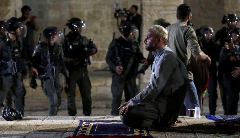 Pasukan Israel Tembaki Warga Palestina di Masjid Al Aqsa, Yordania: Tindakan Barbar