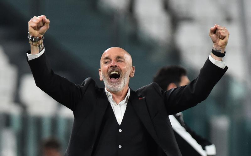 Stefano Pioli Girang, AC Milan Menang di Kandang Juventus setalah 1 Dekade