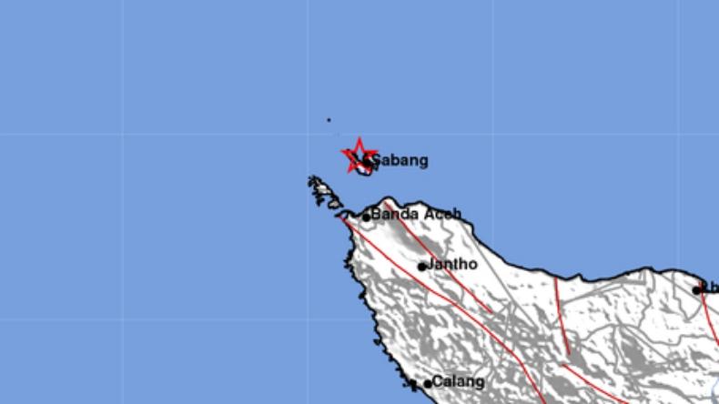 Gempa Magnitudo 3 1 Guncang Kota Sabang Bagian 1